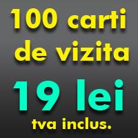 100 carti de vizita