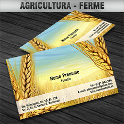 AGRICULTURA carti de vizita