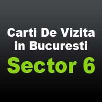 Carti de vizita bucuresti sector 6