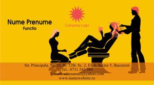 Carti de vizita cosmetica, cosmeticiana - Cod Csm06