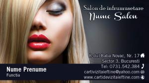 Carti de vizita cosmetica, cosmeticiana - Cod-Csm28