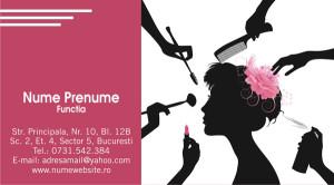 Carti de vizita cosmeticiana, cosmetica - Cod-Csm18