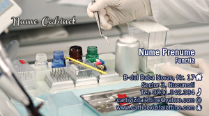 Carti de vizita medic stomatolog  60