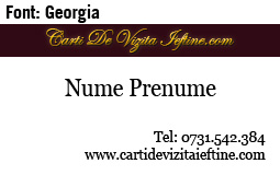Carti-vizita-font-Georgia