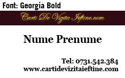 Carti-vizita-font-Georgia Bold