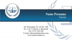 Carti de vizita cabinet avocati - Cod Avo12