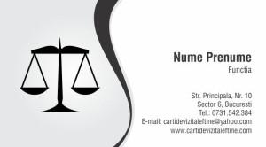 carti de vizita avocat