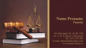 Carti de vizita avocat - Cod Avo5