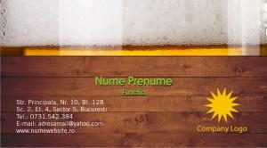 Carti vizita bar - pub - Cod Bar01