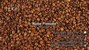 Cart de vizita cafea 15