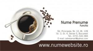 Carti de vizita cafenea - Cod Cafea05