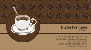 Carti de vizita cafenea - Cod Cafea08