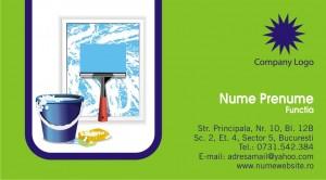 Carti de vizita - Cod Curatenie04