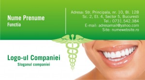 Carti de vizita - Dentist - 44