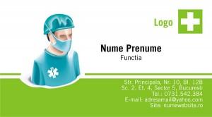 Carti de vizita - Medicina - 09
