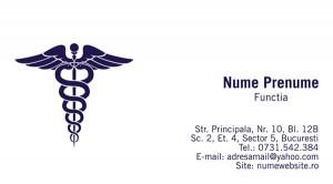 Carti de vizita - Medicina - 16