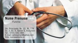 Carti de vizita doctori - Medicina - 20