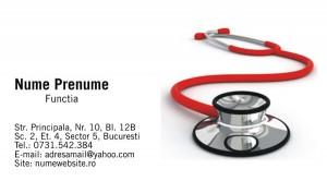 Carti de vizita doctori - Medicina - 21