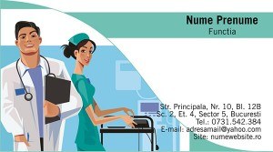 Carti de vizita - Medicina - 35