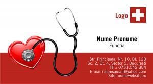 Carti de vizita doctor - cabinet medical - Medicina - 54
