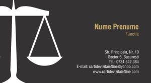 carti de vizita avocat Cod Avo26