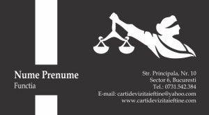 carti de vizita avocat Cod Avo29