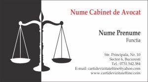 carti de vizita avocat Cod Avo32carti de vizita avocat Cod Avo32