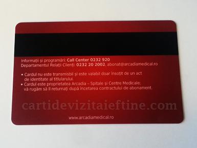 Card plastic pvc 13