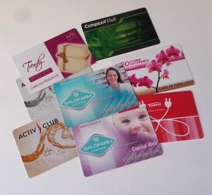 Carduri personalizate pvc bucuresti