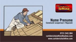 Cod - Constructii acoperisuri si reparatii 01