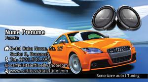 Carti de vizita tuning audio auto - 06