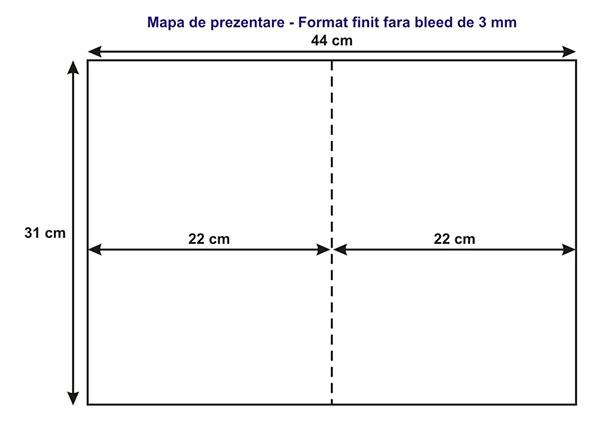 Bleed de taiere mape personalizate