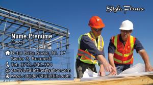 Preturi carti de vizita constructii, ingineri, arhitecti