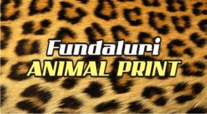 Carti de vizita fundal ANIMAL PRINT