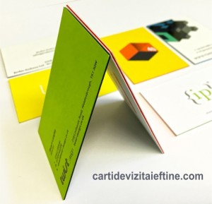 carti de vizita multistrat layerd business cards