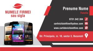 Carti de vizita - Cod GSM - 02