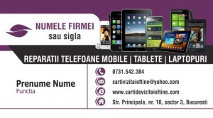 Carti de vizita - Cod GSM - 07
