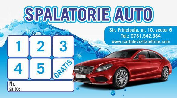 Carti de vizita Spalatorie auto polish 15