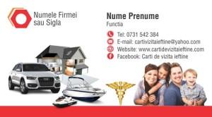 Carti de vizita asigurari Cod Asig 22