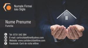 Carti de vizita asigurari locuinte case Cod Asig 19