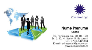 Carti de vizita consultant, consultanta - Cod Consultanta04