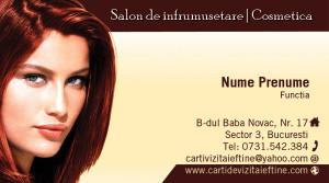 Carti de vizita cosmetica, cosmeticiana - Cod-Csm23