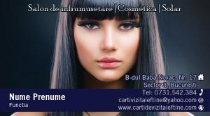 Carti de vizita cosmetica, cosmeticiana - Cod-Csm26