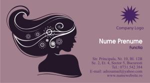Carti de vizita cosmeticiana, cosmetica - Cod-Csm09