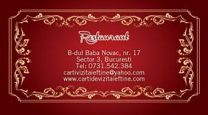 Carti de vizita restaurant 12