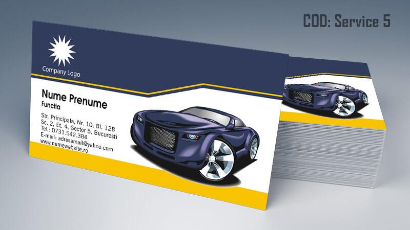 Carti de vizita service auto model cod 5 CDVi