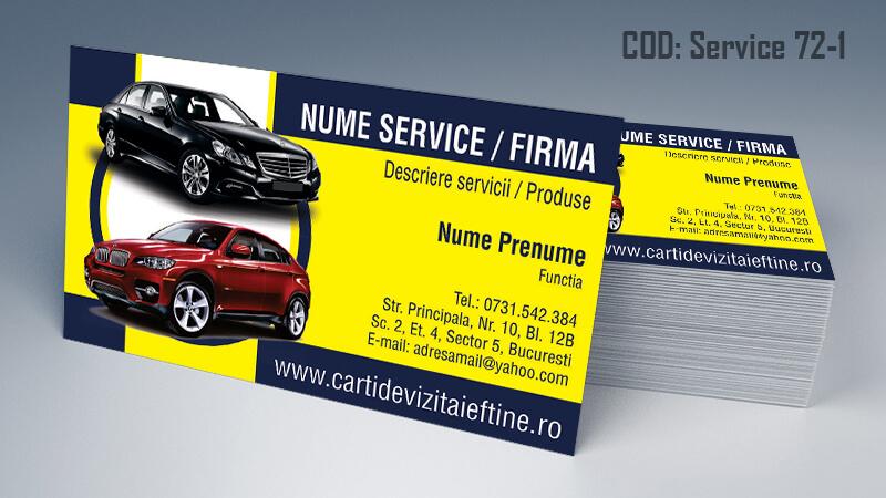 Carti de vizita service auto model cod 71-1 CDViCarti de vizita service auto model cod 71-1 CDVi