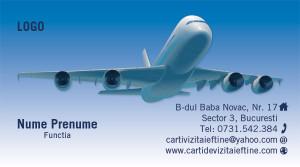 Carti de vizita agentie turism -Cod-Agt-12