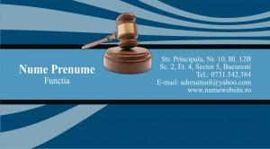 Carti de vizita avocat - Cod Avo10