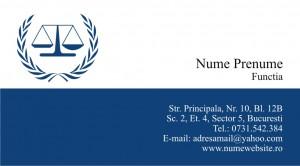 Carti de vizita avocat - Cod Avo2